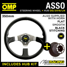 OMP ASSO STEERING WHEEL OD/2019/LN & HUB COMBO RENAULT CLIO RS SPORT 15mm 08-12