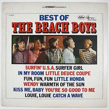 BEACH BOYS Best Of The Beach Boys Vol 1. LP 1970 SURF NM- NM-