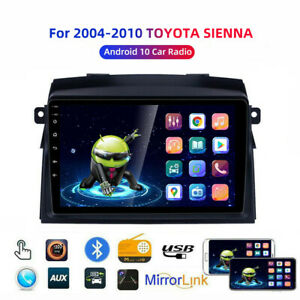 For 2004-2010 Toyota Sienna 7 '' Car stereo Radio Android 10GPS Navigation Wifi