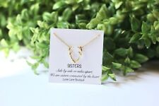 Sister necklace- Gift for sister- Antler necklace- Sister gift