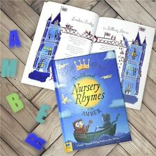 Personalised Traditional Nursery Rhymes Story Book Childrens Storybook Hardback