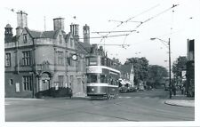 Yorks LEEDS Town St Tram #164 c1960s Photograph Packer