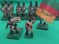 25/28mm EXPERTLY PAINTED & BASED NAPOLEONIC SWISS INFANTRY BATTALION X 27 FGS