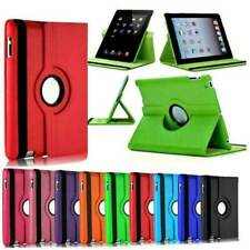 For iPad 9.7 2018/Air/Mini/2 3 4 5 6 7th Gen 10.2 Rotating Smart Cover Case Gift