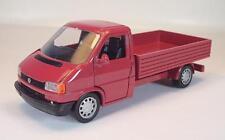Schabak 1/43 Volkswagen VW Transporter Pritsche rot in Blister/Werbebox #2170