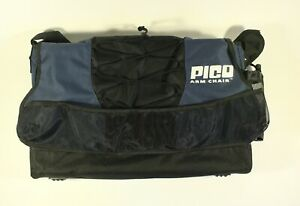 GREY BLACK PICO ARM CHAIR GCI OUTDOORS CARRY BAG BEVERAGE HOLDER CADDY