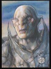 The Hobbit Battle of the Five Armies Sketch Card by JAVIER GONZALEZ