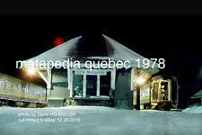Canadian National Rwy     Matepedia Quebec 1978