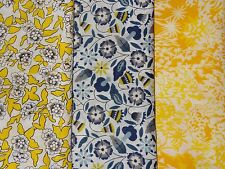 LIBERTY cotton tana lawn fabric bundle x3 pieces CRAFT QUILTING (pack BF)