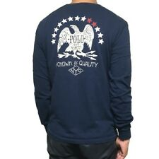"Ralph Lauren Big & Tall ""Eagle USA"" Long Sleeves Pocket Shirt ,  Navy Blue"