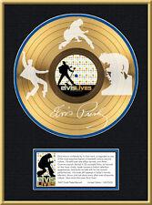 ELVIS PRESLEY - ELVIS LIVES LP GOLDENE SCHALLPLATTE