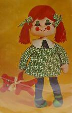 """Bucilla Craft 22"""" Doll Kit Bashful Betty Teddy Bear Sealed"""
