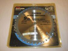 "Sears Craftsman 9"" Circular Saw Blade, never used"