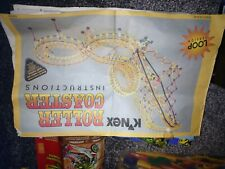 Knex Roller Coaster Set With Others