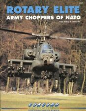 Rotary Elite Army Choppers Of Nato Concord Publications by Yves Debay #4017
