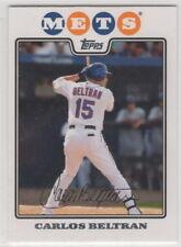 2008 Topps Baseball New York Mets Team Set