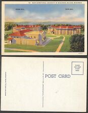 Old University of Wisconsin Postcard - Mens Dormitories - Madison