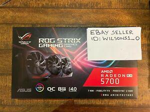 ASUS ROG Strix AMD Radeon RX 5700 (not xt) Overclocked OC 8GB GDDR6 (NOT XT)