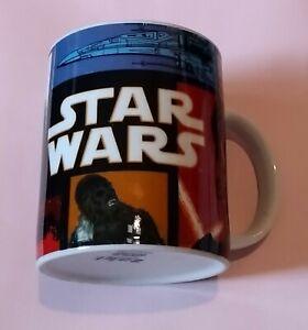 STAR WARS COFFE MUG BY zak ! DARTH VADER MILLENNIUM FALCON CHEWBACCA X-WING BB-8