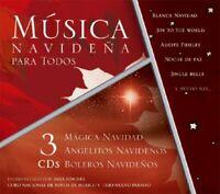 Musica Navidena Para Todos CD 3 Discs NEW