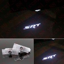 No Drill LED Door Ghost Courtesy Projector Logo Lights For Dodge Challenger SRT