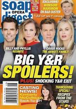 Soap Opera Digest November 27 2017 Young & the Restless Jacqueline MacInnes Wood