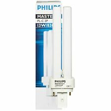 2 Stück Energiesparlampe G24d-1 230V 13W-840 2Pin  Philips Master PL-C 2P