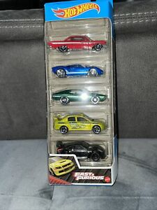 Hot Wheels Fast and Furious 5 Pack Car Set Mint And Boxed New 2021