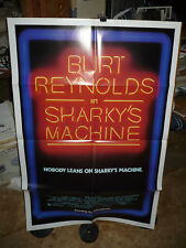 SHARKY'S MACHINE, nr mint orig advance 1-sht / movie poster (Burt Reynolds)