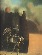 The Horseman of Death Salvador Dali Reproduction Art Print A4 A3 A2 A1
