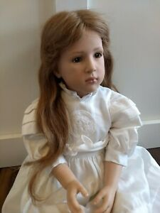 Sigikid Doll Almuth II Made in West Germany Sabine Esche #140/1500 HTF Real Hair