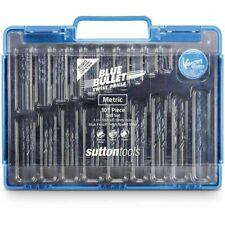 Sutton Tools 101-PIECE BLUE BULLET METRIC JOBBER DRILL BIT SET 1-10mm Aust Brand