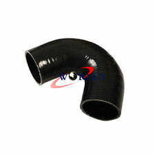 "2"" 135 Degree Bend Elbow Silicone Coupler Hose ID 51mm Intake Turbo Pipe black"