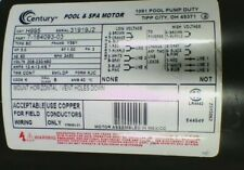 5 HP 3450 RPM 56Y Frame 208-230/460V Square Flange Pool Motor # H995