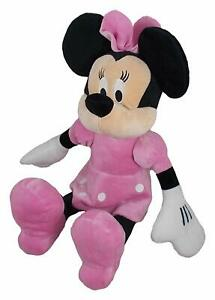 """NEW OFFICIAL DISNEY 21"""" MINNIE MOUSE SOFT PLUSH TOY MICKEY MOUSE"""