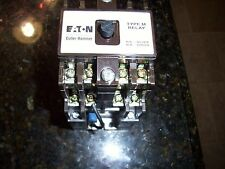 Eaton Cutler Hammer D26MRD70A1 Relay Dc 7Pst 1 120V 60CY TYPE M Multi Pole Relay