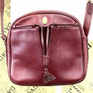 Cartier mast line shoulder bag Bordeaux DQ319-88