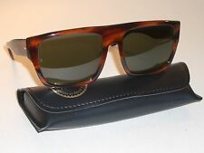 VINTAGE BAUSCH & LOMB RAY BAN USA THICK TORTOISE G15 DRIFTER SUNGLASSES w/CASE