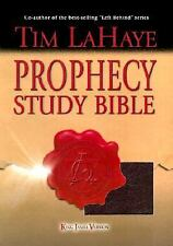 Prophecy Study Bible: King James Version Genuine Burgundy, LaHaye, Tim F., Accep