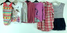 Girls 4/5 Yrs Clothes Bundle Dress Shirts Tops Swimsuit T-shirt Next M&S Floral
