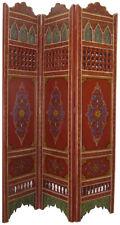 Oriental Arabique Marocain cloison handbemalen mauresque1 Rouge