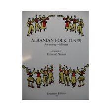 Albian Folk Tunes Violon 1996 partition sheet music score