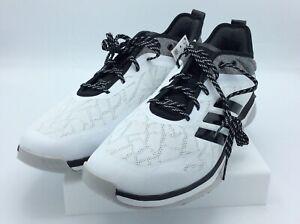 Adidas Mens Speed Trainer 4 Baseball Shoes White/Black/Carbon 12 M
