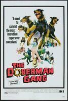 The Doberman Gang Movie POSTER 27 x 40 Byron Mabe, Hal Reed, C