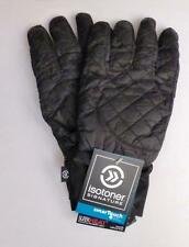 Isotoner Signature Smart Touch Mens S-M Black Gloves MSRP $55.00 Free Shipping