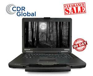 Panasonic Toughbook Rugged Laptop CF-54 Intel i5-5300U 8GB 128GB SSD Win10PRO