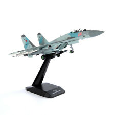 1/100 Scale Russian Air Force SU35 Super Flanker Aircaft Collection Model Toy