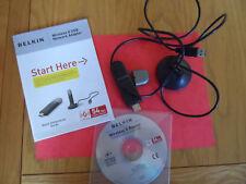 Belkin Wireless G USB Network Adapter ( G 54 Mbps)