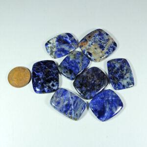 Blue Sodalite stone cabochons handmade cabochons Loose Gemstone beautiful sodalite 56.85 ct Size 48\u00d723\u00d76 mm free shipping