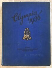 """ OLYMPIA 1936 BAND II "" PHOTOS BOOK GERMANY GERMAN OLYMPICS"